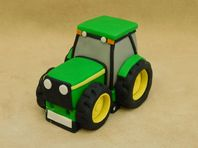 Large Tractor Cake Topper